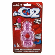 Screaming O Big O2 Double Pleasure Vibrating Ring