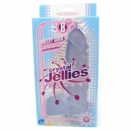 Crystal Jellies 8 Inch Ballsy Cock
