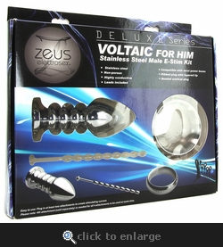 Deluxe Series Voltaic For Him E-Stim Kit
