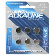 Doc Johnson Long Lasting LR44 Alkaline Battery in 6 pack