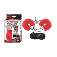 Dominant Submissive Collection Love Cuff (Red)