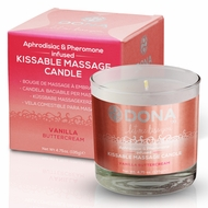 Dona Kissable Soy Massage Candle (Vanilla Buttercream)