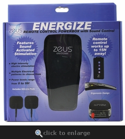Energize Remote Powerbox with Sound Control
