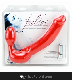 Feeldoe More Wearable Vibrating Double Dildo