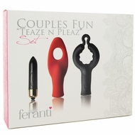 Rocks-Off Feranti Couples Fun Teaze N Pleaze Set