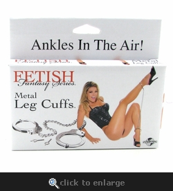 Fetish Fantasy Metal Leg Cuffs