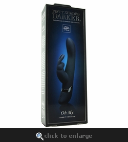 Fifty Shades of Grey Darker Oh My Rabbit Vibrator