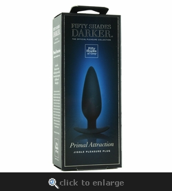 Fifty Shades of Grey Primal Attraction Jiggle Butt Plug