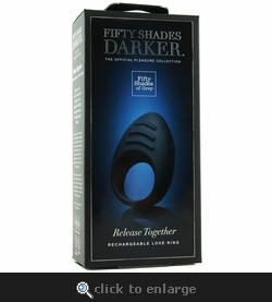 Fifty Shades of Grey Release Together Rechargeable Love Ring