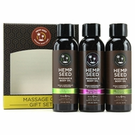 Hempseed Massage Oil Gift Set