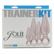 Jolie Anal Trainer Kit in Clear
