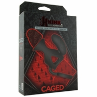 Kink Caged Silicone Vibrating Cock Cage