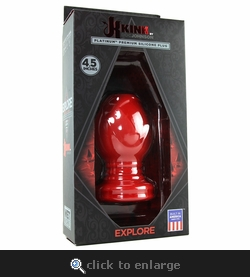 Kink Explore Hollow Silicone 4.5 Inch Plug