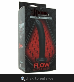 Kink Flow Extra Deep Silicone Douche Accessory