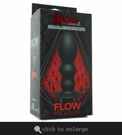 Kink Flow Pleasure Silicone Douche Accessory