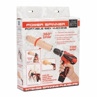 LoveBotz Power Spinner Portable Drill Sex Machine