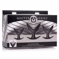 Masters Ass Anchors 3 piece Silicone Anchor Set