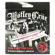 Motley Crue Too Fast For Love 10 Function Bullet Vibe