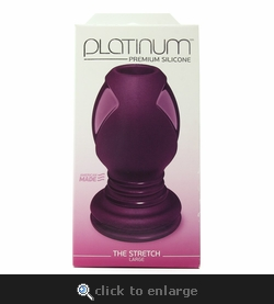Platinum Silicone The Stretch Large Tunnel Plug