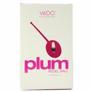 Plum Kegel Ball in Hot in Bed