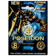 Poseidon Platinum 3500 Male Supplement 1Pk