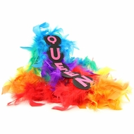 Queen Rainbow Flashing Boa