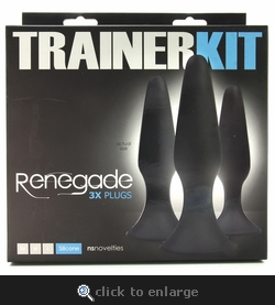 Renegade Silicone Anal Trainer Kit