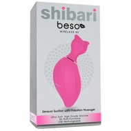 Shibari Beso Sensual Suction Clitoral Massager