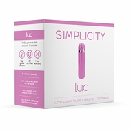 Simplicity LUC Power bullet - Pink