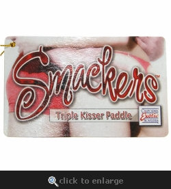 Smackers Triple Kisser Paddle