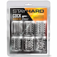 Stay Hard - Cock Sleeve Kit - Clear