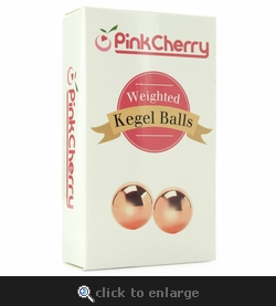 Weighted Kegel Balls in Pink