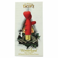 WonderLand The Heavenly Heart Mini Massager Vibe