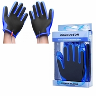 Zeus Conductor Electro Sensation Gloves (Blue & Black)