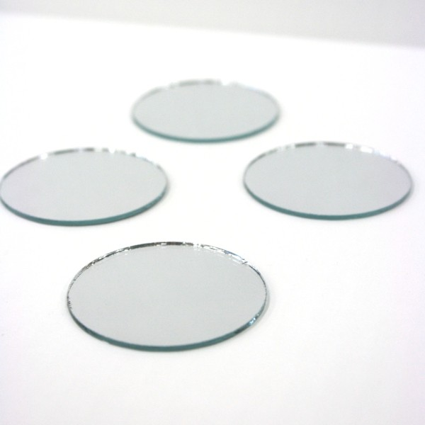 Small round craft mirrors pictures to pin on pinterest for Small round craft mirrors