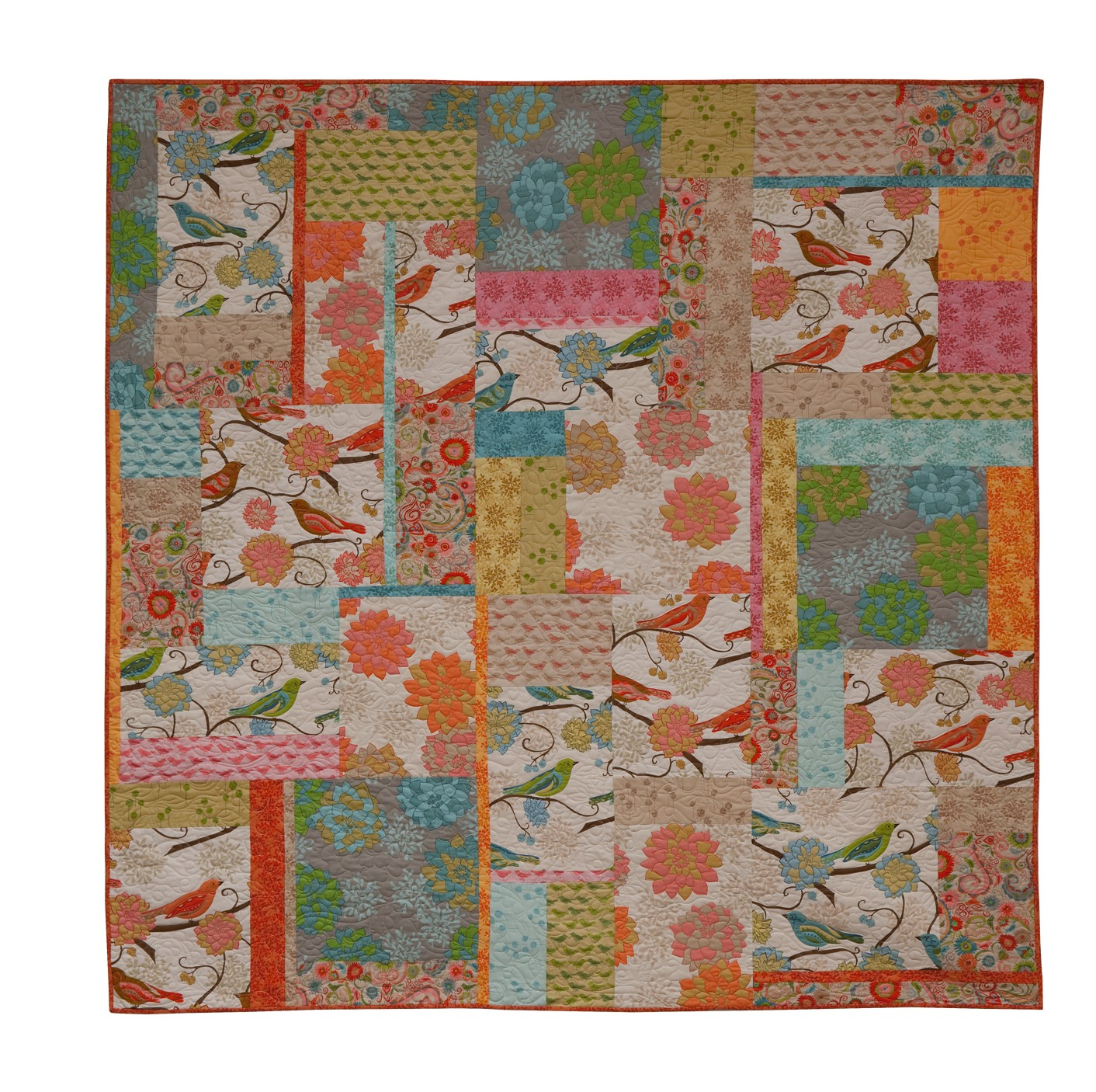 Quilting Designs Free : free large print quilt pattern Quotes