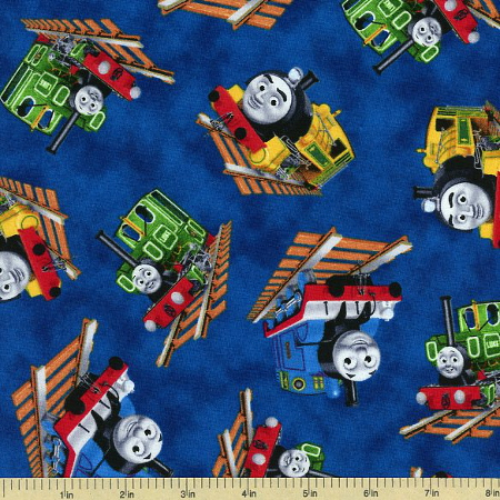 Train pattern fleece fabric popular crocheting patterns for Fabric with trains pattern