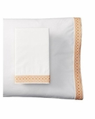 Coyuchi 300 Percale Henna King Pillowcase Pair