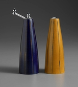 "6"" Salt and Pepper Set - Blue and Yellow"