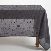 Coyuchi Abstract Voile Tablecloth
