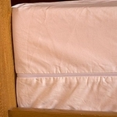 Organic Cotton Mattress Encasement - Dust-Mite Proof