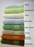 Bamboo Viscose Towels- Set of 6