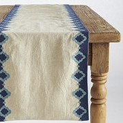 Coyuchi Bold Embroidered Table Runner