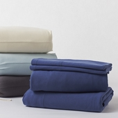 Coyuchi Organic Cotton Jersey Sheet Set