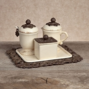GG Collection Sugar and Creamer Set w/ Sweetener Box