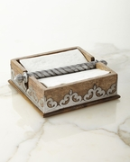 GG Collection Wooden Napkin Holder
