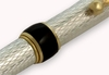 Grifos Italian Mechanical Pencil Silver Moirè w/ Gold GLM813-D-G05