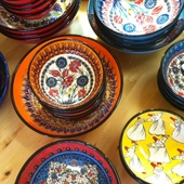 Handmade Turkish Ceramic Bowls