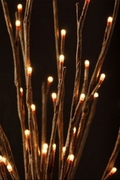 Illuminated Willow Branch, 60 Lights