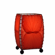 Mini Red Leaf Table Lamp